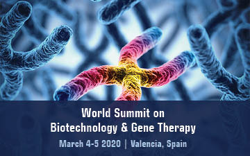 World Summit on Biotechnology & Gene Theraphy -2020